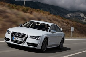 The new 2012 Audi S8