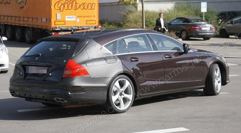 Mercedes Cls Shooting Brake 2012 New Car Spy Shots Car Magazine