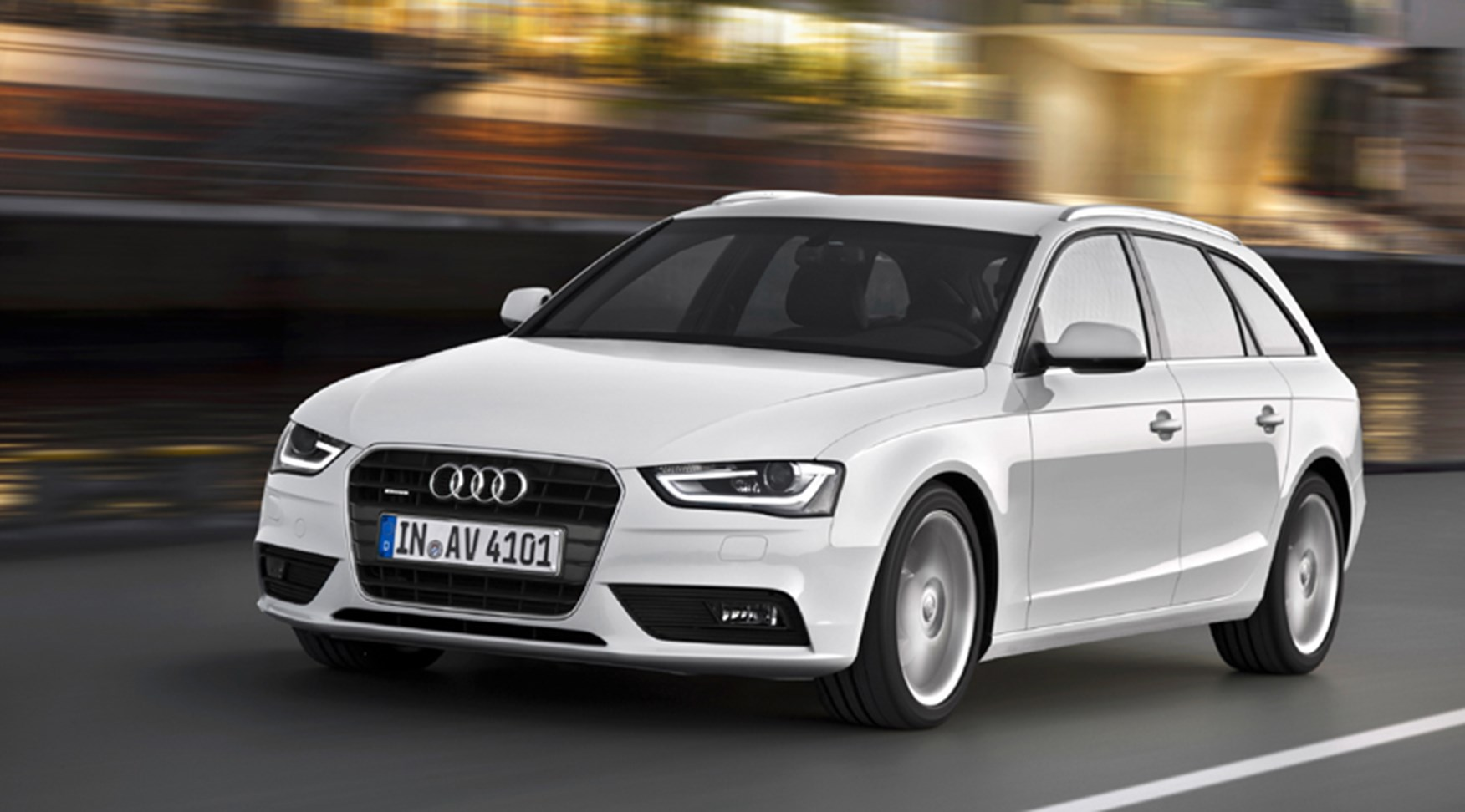 Audi A4 2012 The Revised Saloon Avant And Allroad By