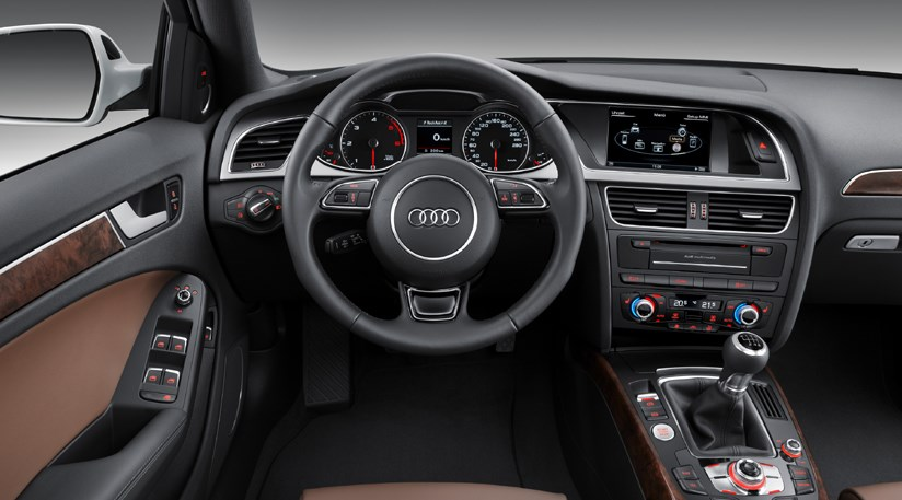audi a4 (2012): the revised saloon, avant and allroad ~ new cars