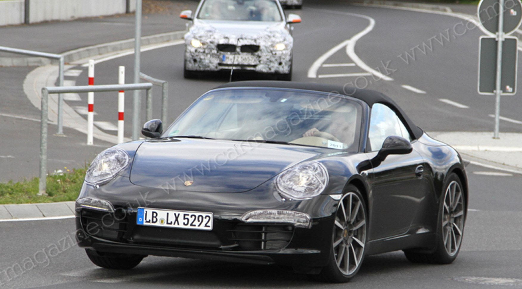 Porsche 991 Secrets Of The New 911 Cabrio S Roof Car