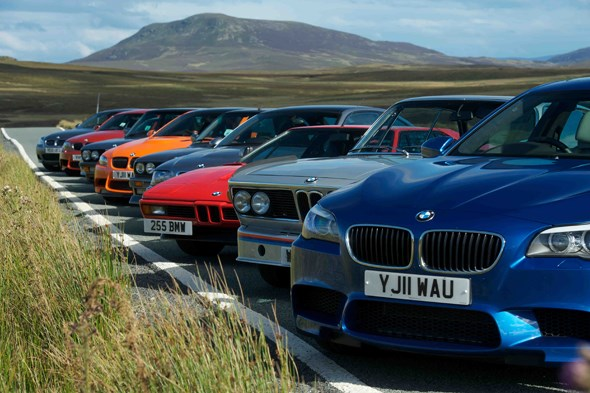 in the october 2011 issue of car magazine we got together ten of our favourite m cars and drove them on our favourite welsh roads