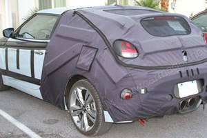 We caught the Hyundai Veloster Turbo on test in the US in summer 2011