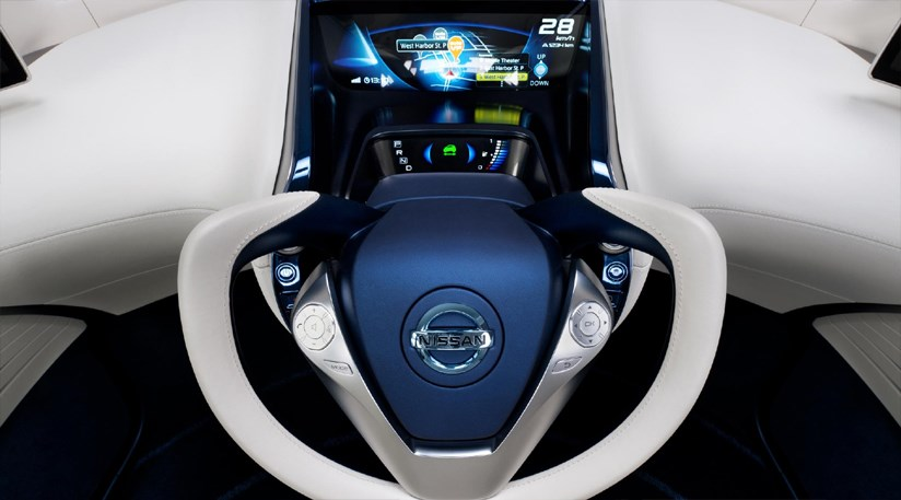 Nissan Pivo 3 Concept Car 2011 First Pictures Car Magazine