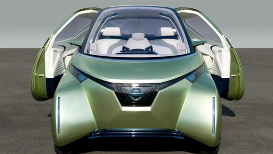 Nissan Pivo 3 Concept Car 2017 First Pictures