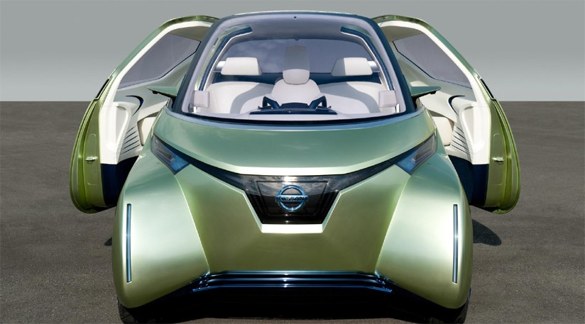 Nissan Pivo 3 Concept Car 2011 First Pictures By Car