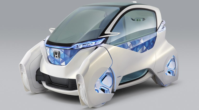 Honda Small Sports EV Concept 2011 First Pictures