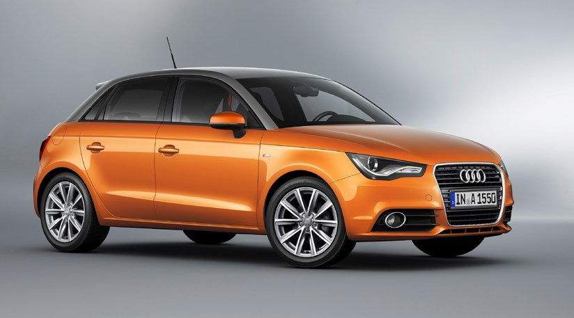 audi a1 sportback 2012 first official pictures by car magazine. Black Bedroom Furniture Sets. Home Design Ideas
