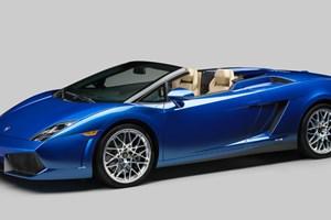 The new 2012 Lamborghini Gallardo LP 550-2 Spyder