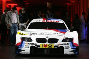 The 2012 BMW M3 for DTM