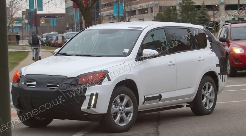 Toyota Rav4 EV (2012)   Tesla/Toyota SUV Scooped +8