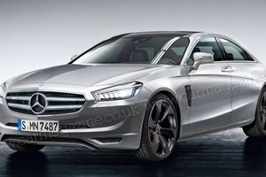 Mercedes E Superlight (2015): Merc's carbonfibre fuel cell exec