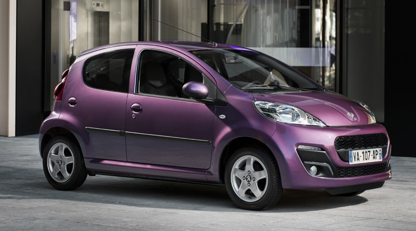 Peugeot 107 Facelift 2012 First Official Pictures Car