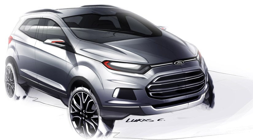Ford EcoSport baby SUV concept (2012) first pictures | CAR ...