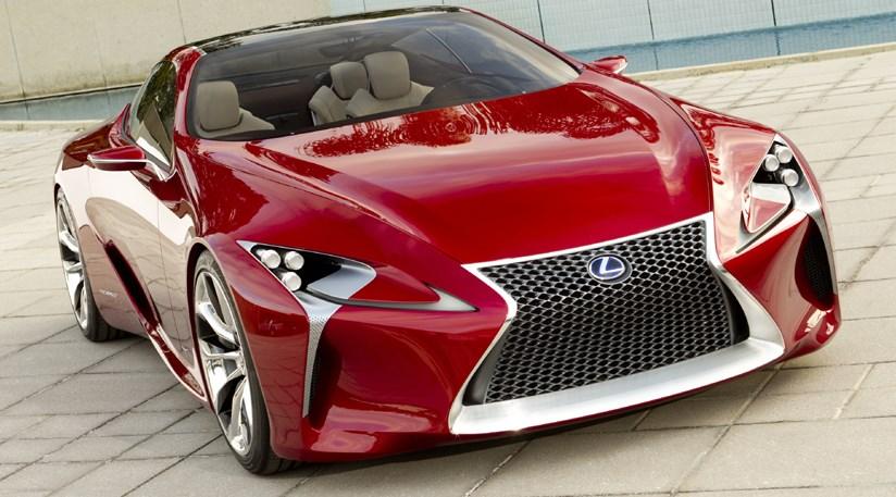 Lexus Lf Lc Hybrid Sports Coupe Unveiled At 2012 Detroit Show Car