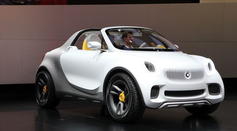 The New Smart For Us Concept Car 2017