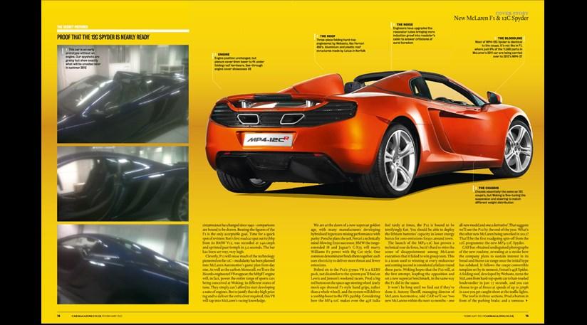 McLaren P12 (2013): CAR's scoop on the F1 successor | CAR Magazine