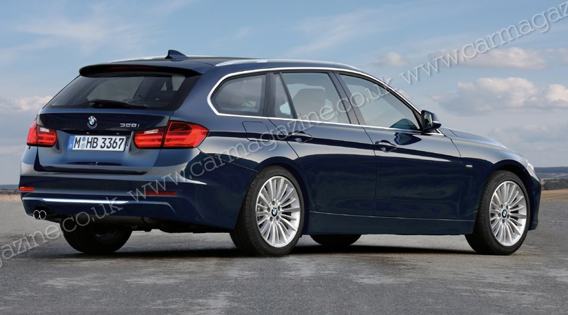 bmw 3 series touring estate 2012 f31 scooped by car magazine. Black Bedroom Furniture Sets. Home Design Ideas