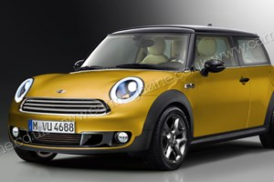 The new F56 Mini hatchback. CAR Magazine's artist's impression