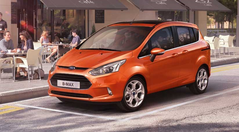 ford b max 2012 first photos of the production car by. Black Bedroom Furniture Sets. Home Design Ideas