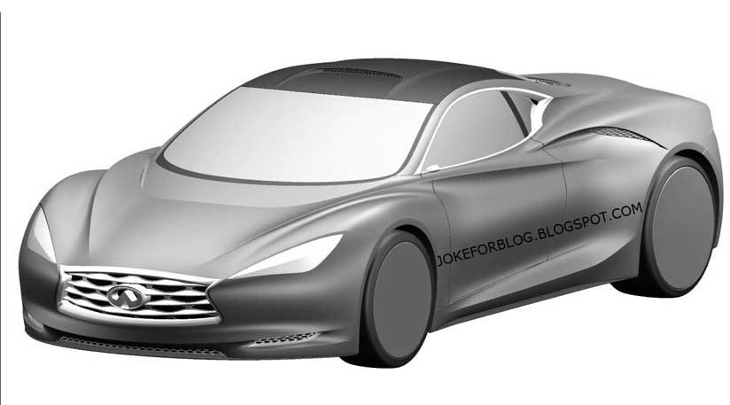 Infiniti Emerg-e concept car (2012): leaked patent drawings by CAR ...