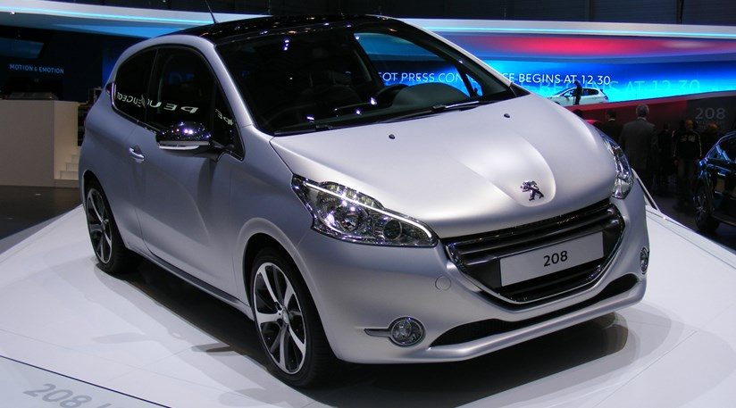 Peugeot 208 Gti Concept 2012 First Official Pictures Car Magazine