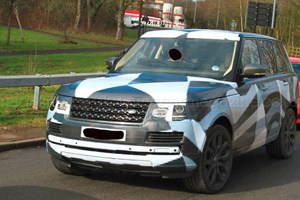 Disguise is slowly peeling away from the new 2012 Range Rover