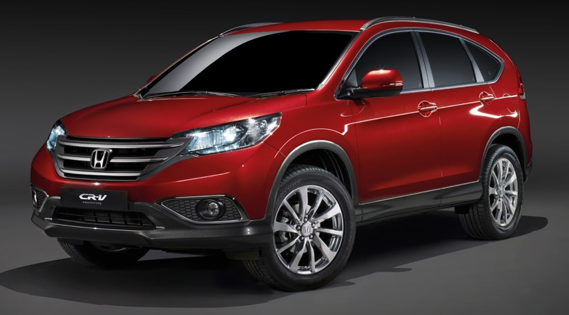 honda cr v 2012 the european crossover is unveiled by car magazine. Black Bedroom Furniture Sets. Home Design Ideas