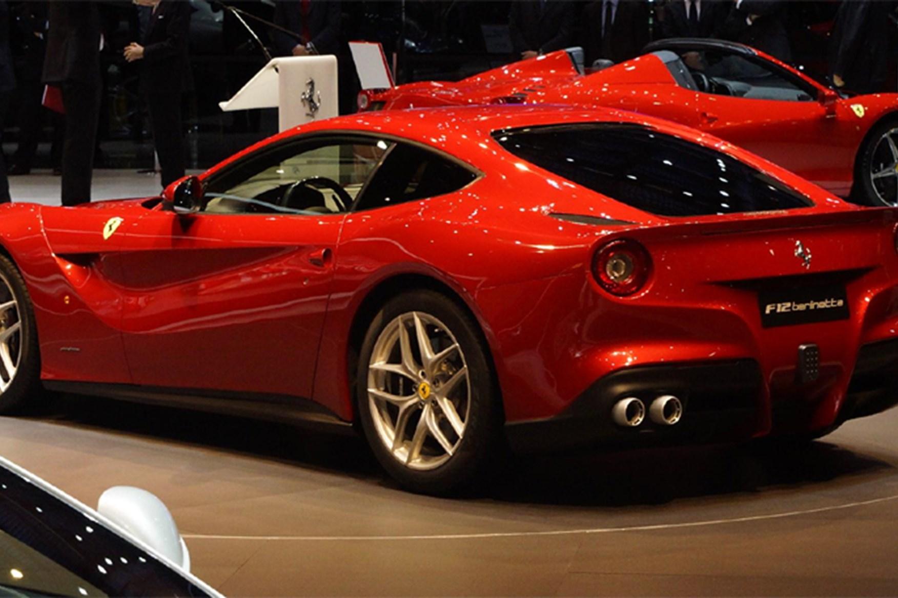 Ferrari f12 successor