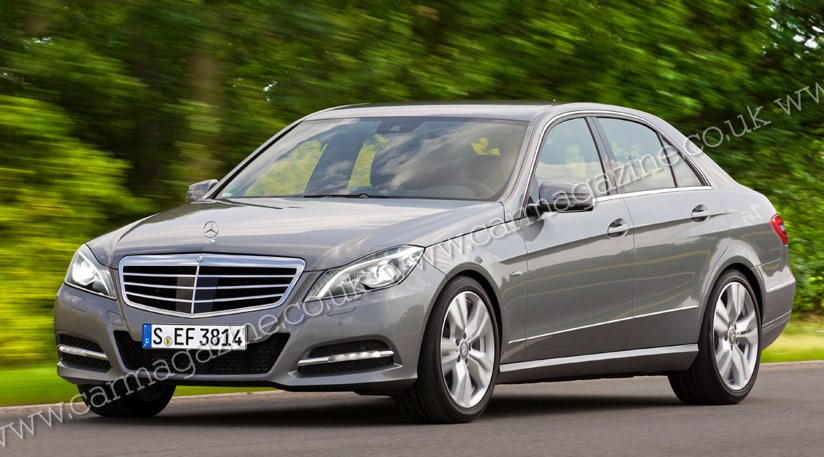 Mercedes E Class Facelift Coming In January 2013 Car
