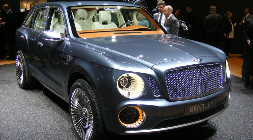Bentley EXP 9 F SUV at 2012 Geneva motor show | CAR Magazine