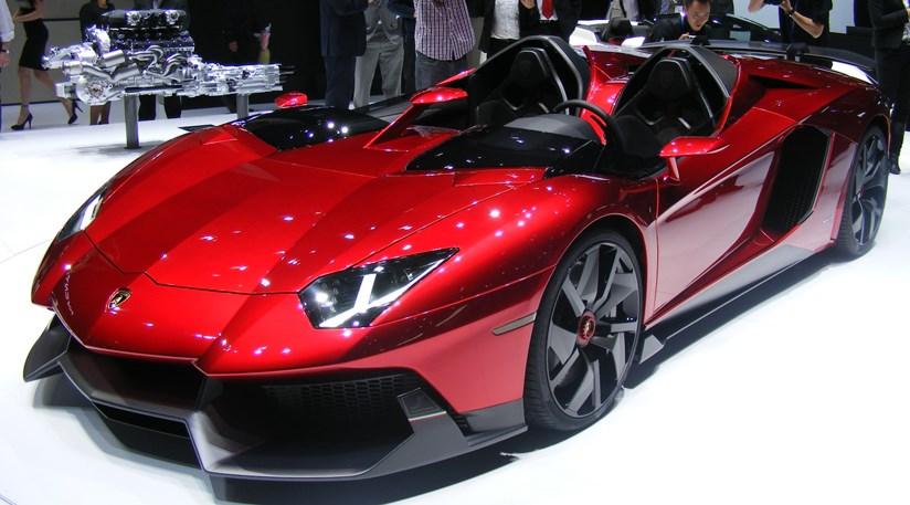 Lamborghini Aventador J At 2012 Geneva Motor Show Car Magazine