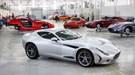 AC 378 GT Zagato supercar at 2012 Geneva motor show