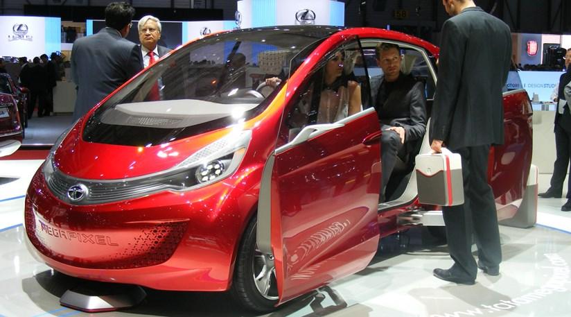 Tata megapixel concept car at 2012 geneva motor show by for Tata motors future cars