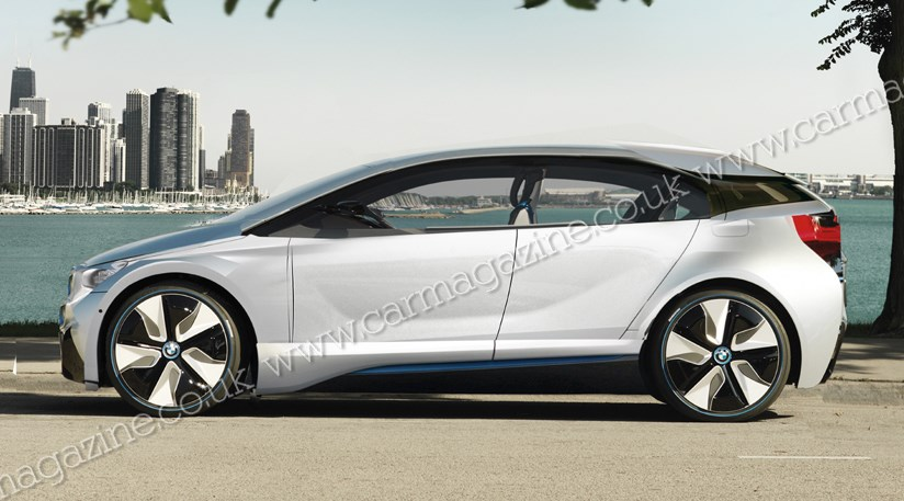 Bmw I3 The Production Electric I3 Hatchback Coming In