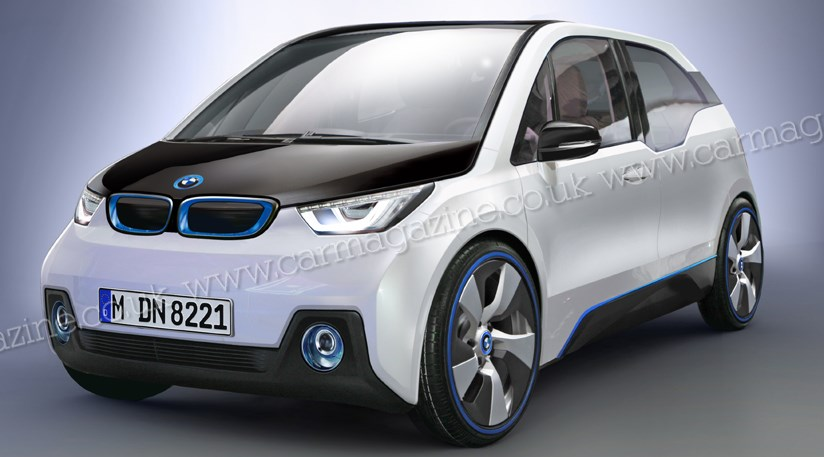 Bmw I3 The Production Electric I3 Hatchback Coming In 2013 Car