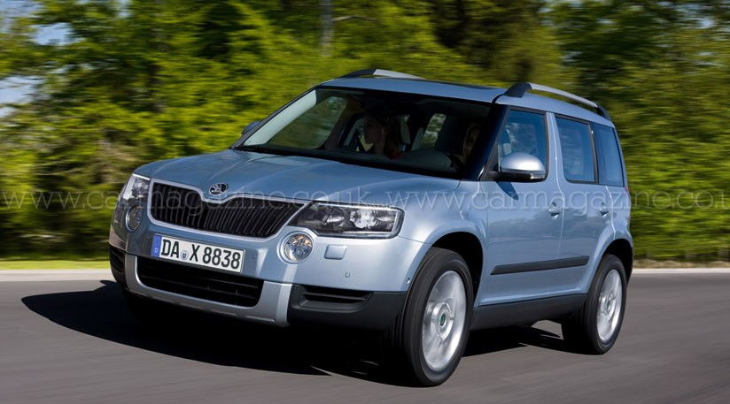 skoda snowman and yeti mk2 two new skoda 4x4s car magazine. Black Bedroom Furniture Sets. Home Design Ideas