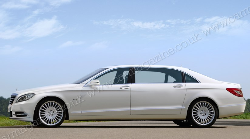Mercedes Pullman Stretches New 2013 Merc S Class Family By