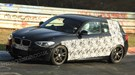 BMW M135i (2012) scooped at the Nurburgring