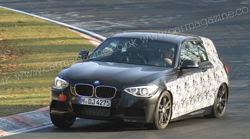 BMW M135i (2012) scooped at the Nurburgring | CAR Magazine