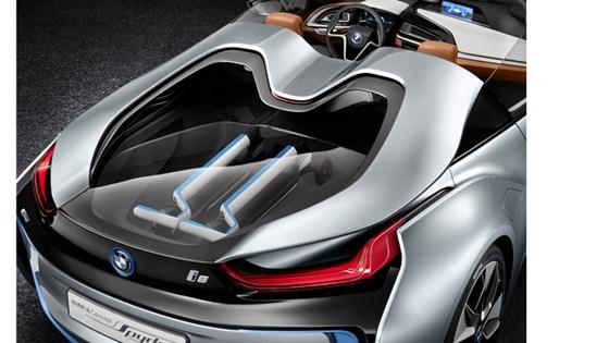 Bmw i8 Magazine Bmw i8 Spyder Concept Car