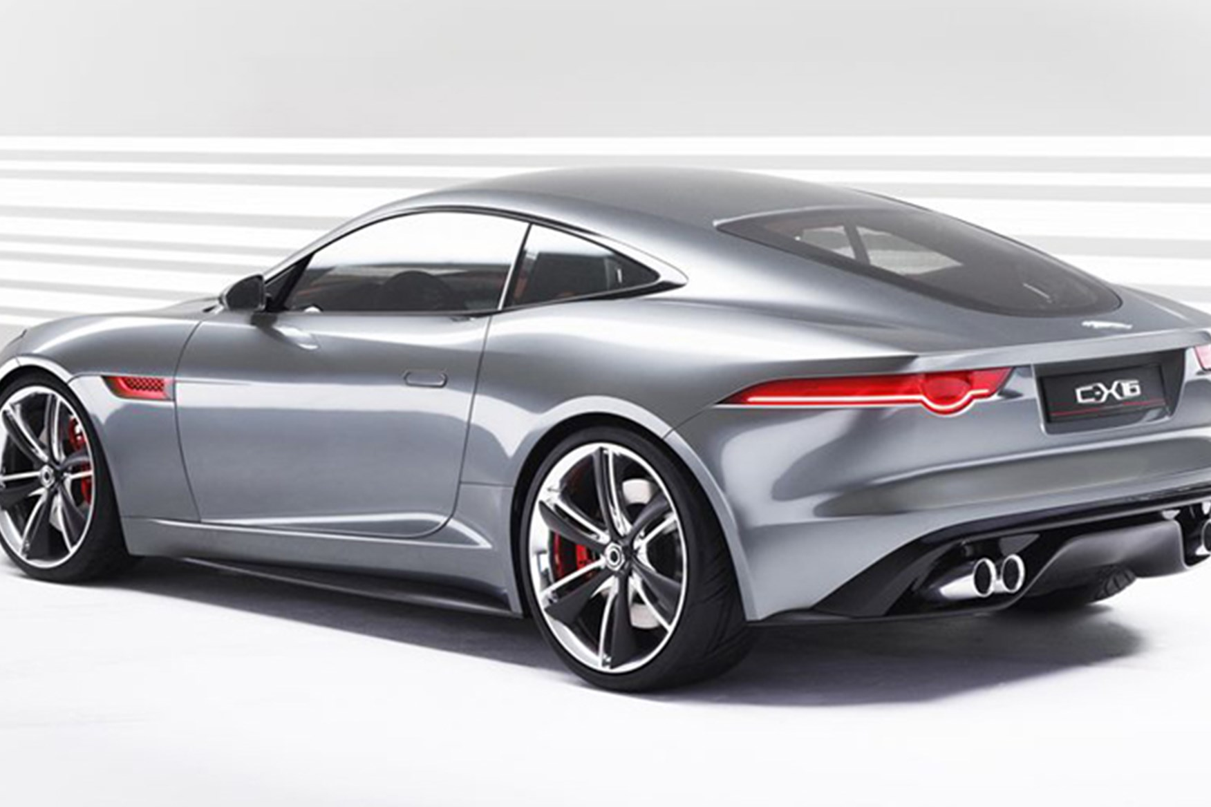 ... C X16u0027s Red Cabin Will Survive Largely Intact For F Type Production  Reality In 2013 Note Stick Shift. No More Rotary Dials For Jaguar Sports  Cars ...