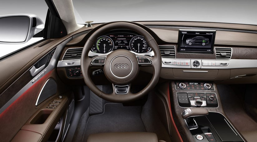 audi a8 hybrid 2012 review by car magazine. Black Bedroom Furniture Sets. Home Design Ideas