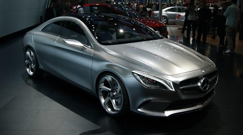 Mercedes concept style coupe 2012 aka cla car magazine for Mercedes benz cla 2012