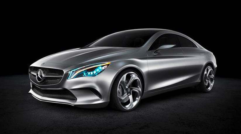 Mercedes concept style coupe 2012 aka cla by car magazine for Mercedes benz cla 2012
