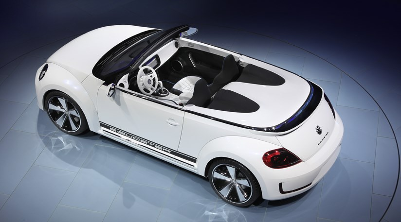 Vw E Bugster Convertible Concept Car At 2012 Beijing Motor