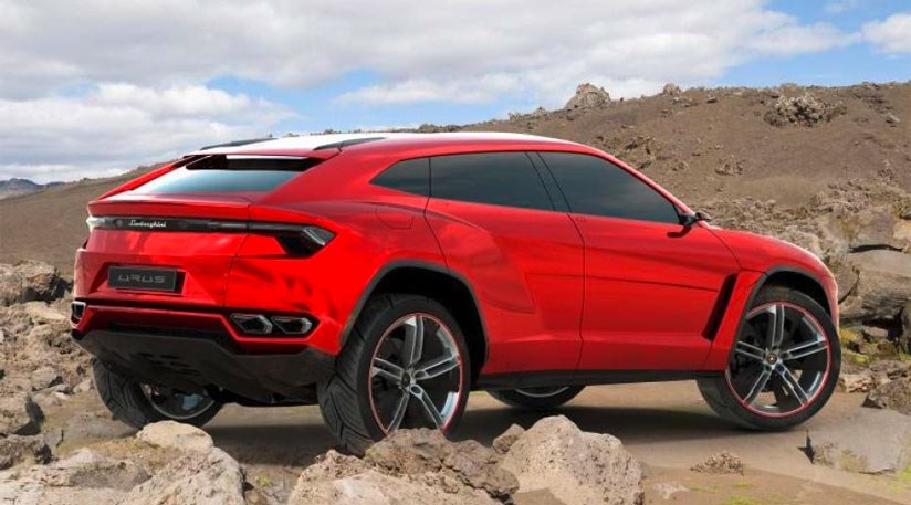 Lamborghini Urus Suv Concept 2012 Leaks Early Car Magazine