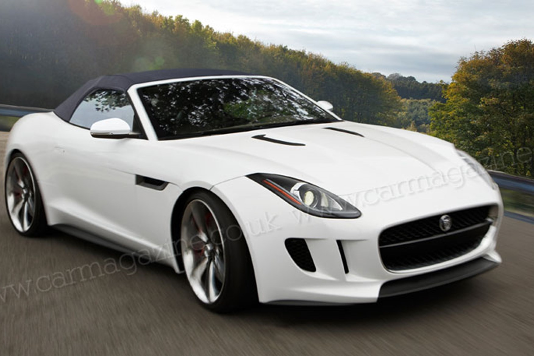 ... Artistu0027s Impression Of The New 2013 Jaguar F Type ... Amazing Ideas