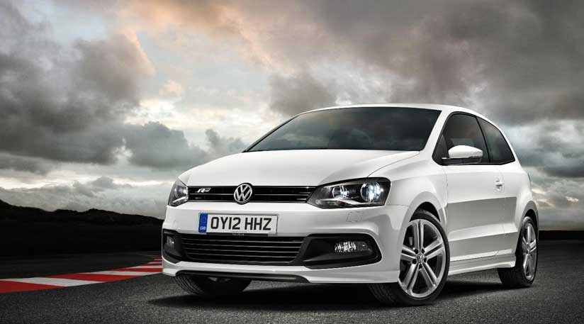 vw polo r line 2012 first official pictures car magazine. Black Bedroom Furniture Sets. Home Design Ideas