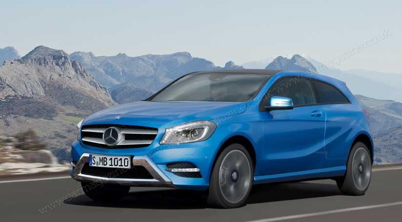 Mercedes gla 2013 latest news on the junior crossover for Mercedes benz gla crossover